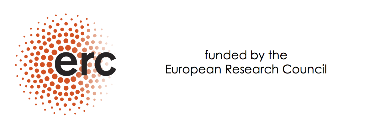 funded by the European Research Council